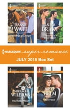 Harlequin Superromance July 2015 - Box Set: To Tempt a Cowgirl\His Rebel Heart\Twice in a Blue Moon…