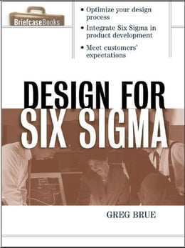 Book Design for Six Sigma by Brue, Greg