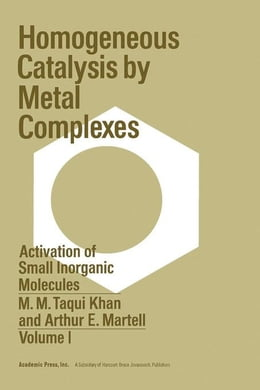 Book Activation Of Small Inorganic Molecules by Khan, M.M. Taqui