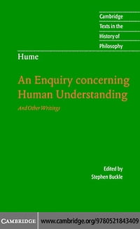Hume: An Enquiry conc Human Underst