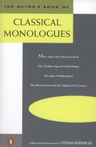 The Actor's Book of Classical Monologues Cover Image