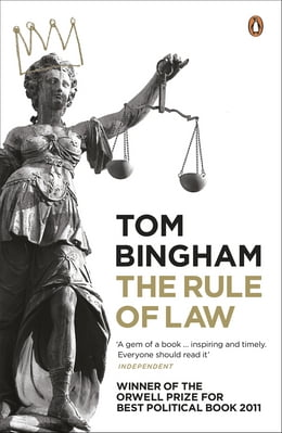 Book The Rule of Law by Tom Bingham
