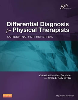 Book Differential Diagnosis for Physical Therapists by Catherine C. Goodman