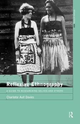 Book Reflexive Ethnography by Davies, Charlotte Aull
