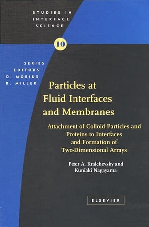 Particles at Fluid Interfaces and Membranes Attachment of Colloid Particles and Proteins to Interfaces and Formation of Two-Dimensional Arrays
