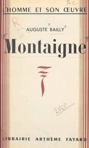 Montaigne by Auguste Bailly