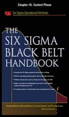 The Six Sigma Black Belt Handbook, Chapter 16 - Control Phase by Thomas McCarty