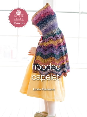Hooded Capelet E-pattern from Little Crochet