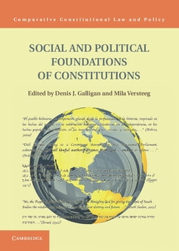 Book Social and Political Foundations of Constitutions by Mila Versteeg