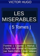 LES MISÉRABLES , 5 TOMES , PACKAGE by Victor Hugo