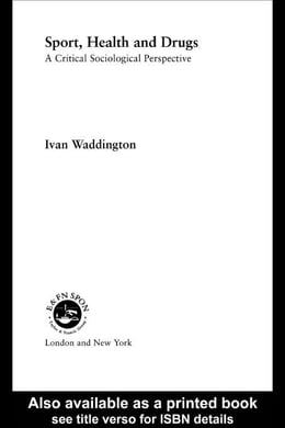 Book Sport, Health and Drugs by Waddington, Ivan