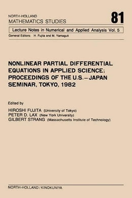 Book Nonlinear Partial Differential Equations in Applied Science by Fujita, H.