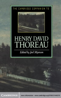 The Cambridge Companion to Henry David Thoreau