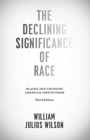 The Declining Significance of Race Blacks and Changing American Institutions,  Third Edition