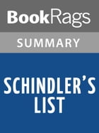 Schindler's List by Thomas Keneally l Summary & Study Guide by BookRags