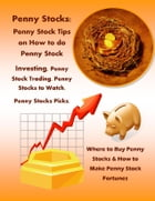 Penny Stocks: Penny Stock Tips on How to do Penny Stock Investing, Penny Stock Trading, Penny Stocks to Watch, Penny Stocks Picks, Where to Buy Penny  by Robert Morrison