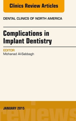 Book Complications in Implant Dentistry, An Issue of Dental Clinics of North America, by Mohanad Al-Sabbagh