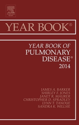 Book Year Book of Pulmonary Diseases 2014, E-Book by James A Barker