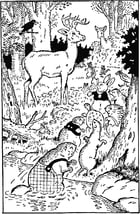 The Adventures of Lightfoot the Deer by Thornton W. Burgess