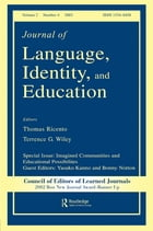 Imagined Communities and Educational Possibilities: A Special Issue of the journal of Language…