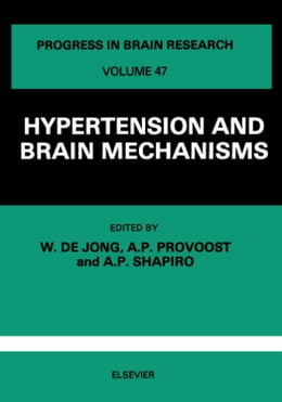 Book Hypertension and Brain Mechanisms by De Jong, W.