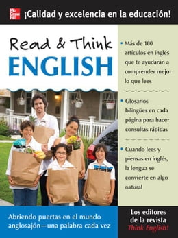 Book Read & Think English (Book Only) by The Editors of Think English! magazine