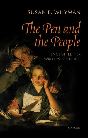 The Pen and the People English Letter Writers 1660-1800