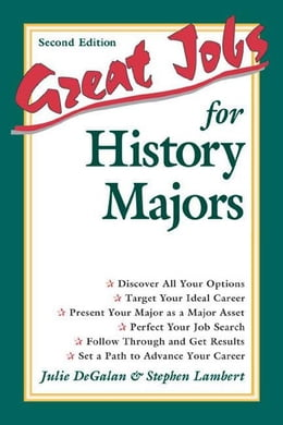Book Great Jobs for History Majors by Lambert, Stephen