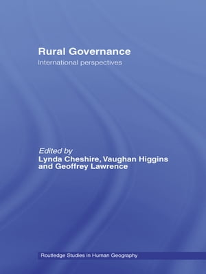 Rural Governance International Perspectives