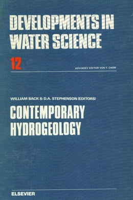 Book Contemporary hydrogeology: The George Burke Maxey memorial volume by Stephenson, David