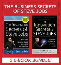 Book Business Secrets of Steve Jobs: Presentation Secrets and Innovation secrets all in one book! (EBOOK… by Carmine Gallo