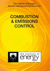 The Institute of Energy's Second International Conference on COMBUSTION & EMISSIONS CONTROL…