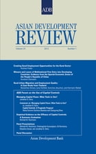 Asian Development Review: Volume 29, Number 1, 2012