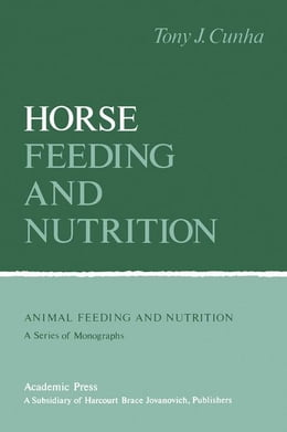 Book Horse Feeding And Nutrition by Cunha, Tony