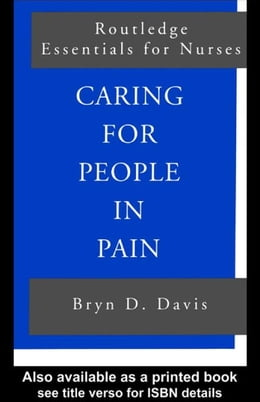 Book Caring for People in Pain by Davis, Bryn D.