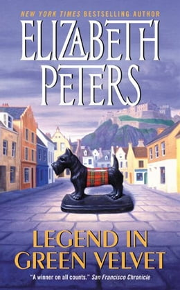 Book Legend in Green Velvet by Elizabeth Peters
