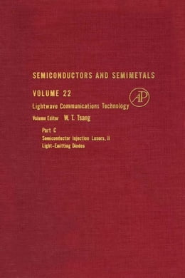 Book Semiconductors and Semimetals by Tsang, W. T.