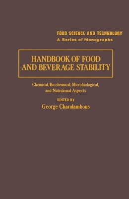 Book Handbook of Food and Beverage Stability by Unknown, Author