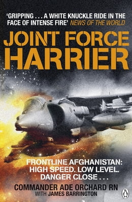 Book Joint Force Harrier by Adrian Orchard