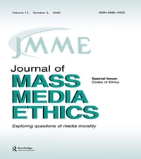 Codes of Ethics: A Special Issue of the journal of Mass Media Ethics