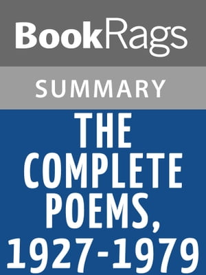 The Complete Poems,  1927-1979 by Elizabeth Bishop | Summary & Study Guide