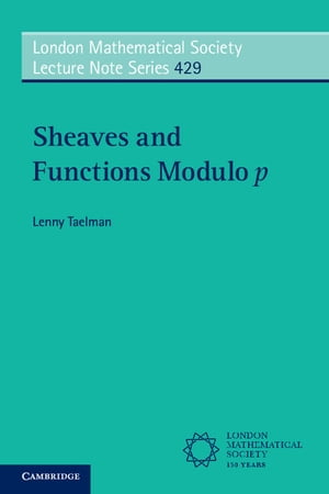 Sheaves and Functions Modulo p Lectures on the Woods Hole Trace Formula