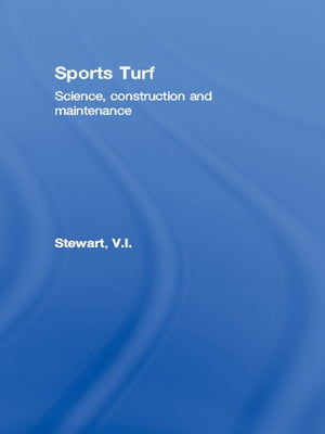 Sports Turf Science,  construction and maintenance