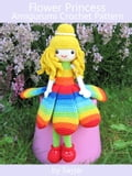 Flower Princess Amigurumi Crochet Pattern d9214010-42ef-4919-ac62-719b63571508