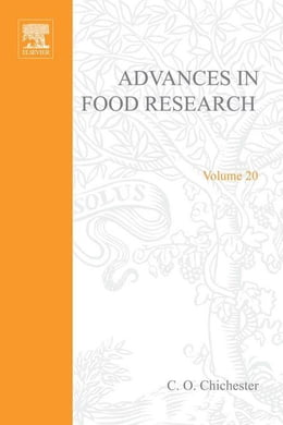 Book Advances in Food Research by Mrak, E. M.