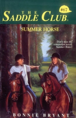 Book Summer Horse by Bonnie Bryant