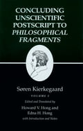 Kierkegaard's Writings, XII, Volume I: Concluding Unscientific Postscript to Philosophical Fragments 9cbf66f5-039e-4c39-bdee-8a53739a38aa