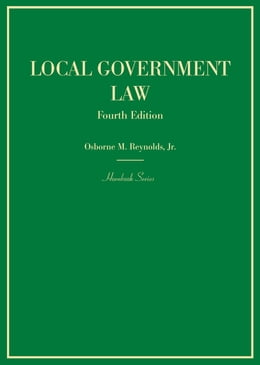 Book Local Government Law by Osborne Reynolds Jr