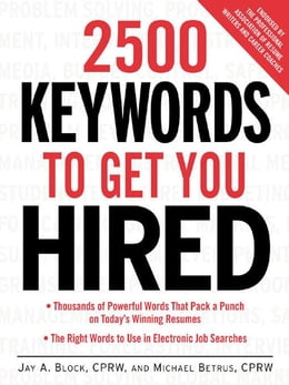 Book 2500 Keywords to Get You Hired by Block, Jay A.