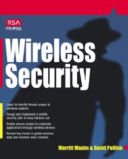 Book Wireless Security by Maxim, Merrit